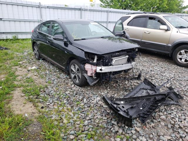 Salvage cars for sale from Copart Ontario Auction, ON: 2019 Hyundai Ioniq Pref