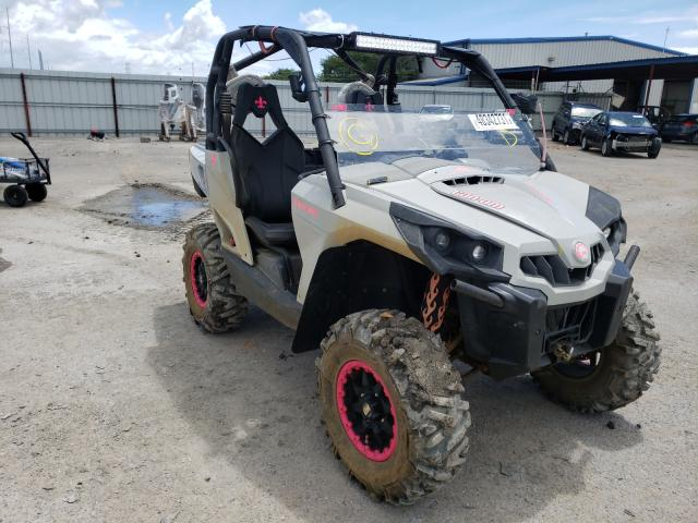 Salvage motorcycles for sale at New Orleans, LA auction: 2015 Can-Am Commander