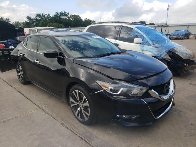 Vehiculos salvage en venta de Copart Wilmer, TX: 2016 Nissan Maxima 3.5