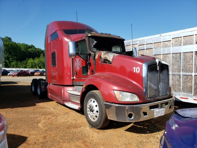 Salvage cars for sale from Copart Mocksville, NC: 2014 Kenworth T660