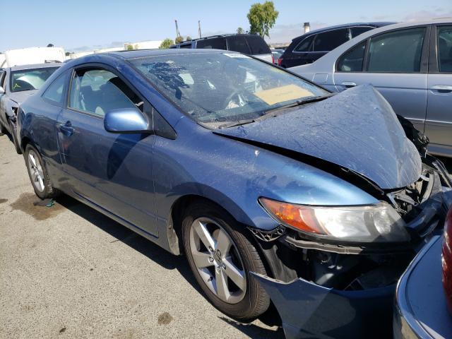 Honda Civic salvage cars for sale: 2007 Honda Civic