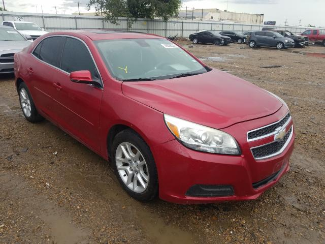 Salvage cars for sale at Mercedes, TX auction: 2014 Chevrolet Malibu 1LT