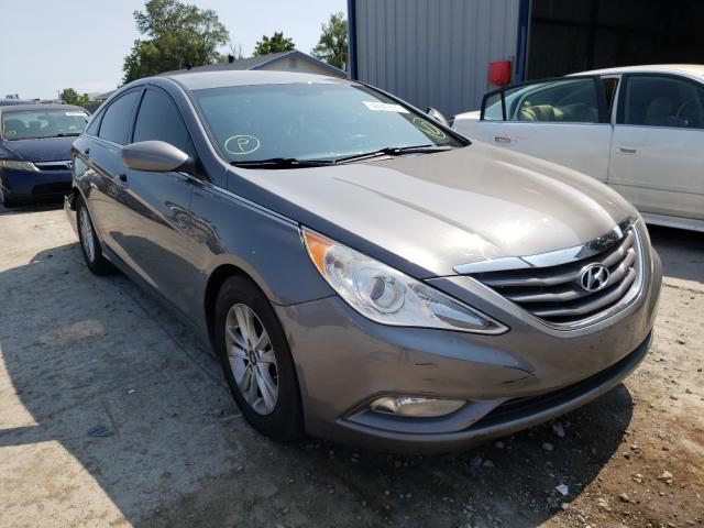 Salvage cars for sale from Copart Sikeston, MO: 2013 Hyundai Sonata GLS