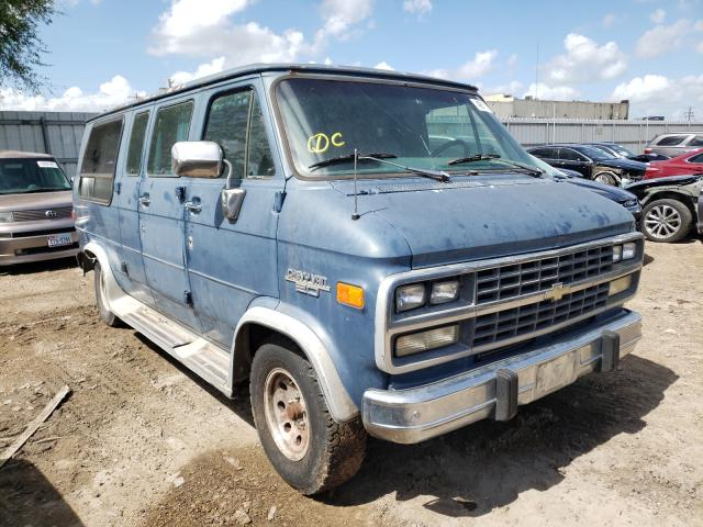 Salvage cars for sale at Mercedes, TX auction: 1993 Chevrolet G20