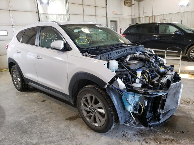 Salvage cars for sale from Copart Columbia, MO: 2017 Hyundai Tucson Limited