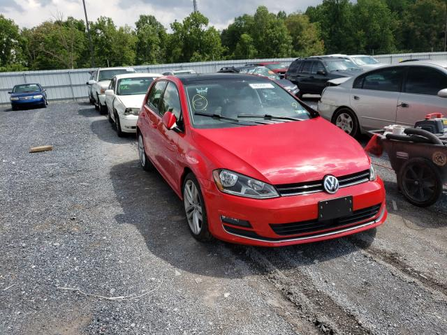 Salvage cars for sale from Copart York Haven, PA: 2017 Volkswagen Golf S