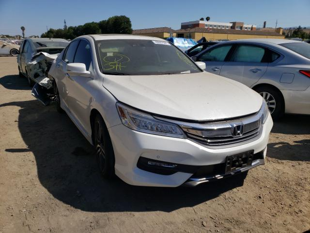 Salvage cars for sale from Copart San Martin, CA: 2017 Honda Accord TOU