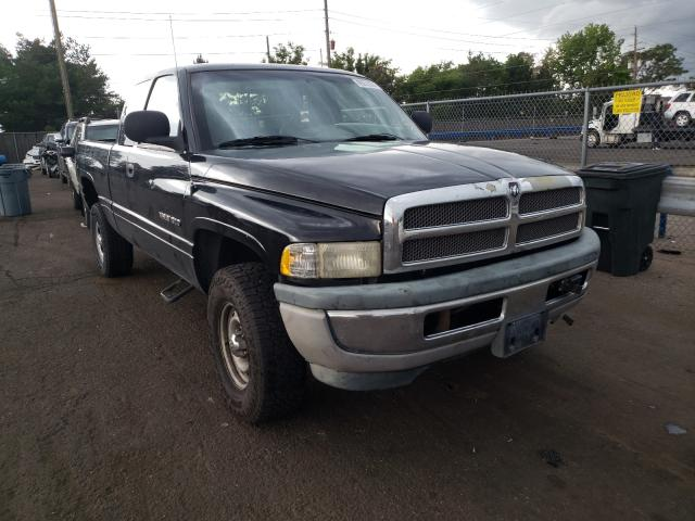 Salvage cars for sale from Copart Denver, CO: 1999 Dodge RAM 1500