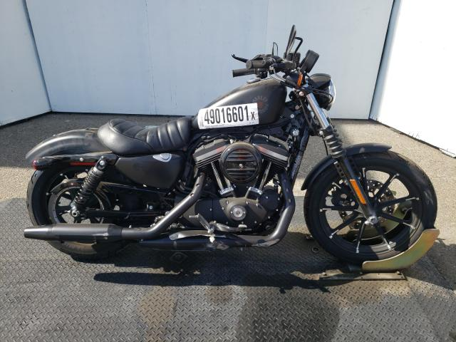 Salvage cars for sale from Copart Rancho Cucamonga, CA: 2021 Harley-Davidson XL883 N