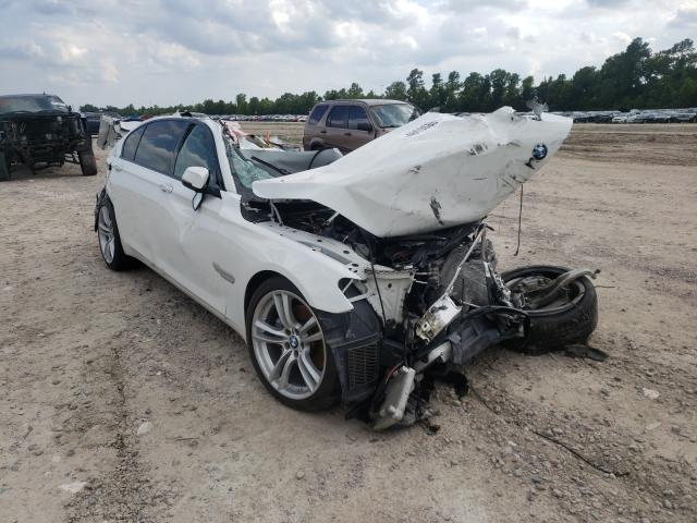 Salvage cars for sale from Copart Houston, TX: 2015 BMW 740 LI
