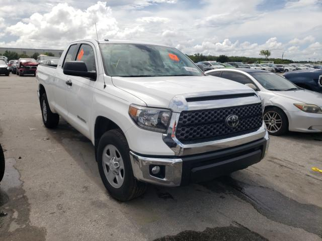 Salvage cars for sale from Copart Orlando, FL: 2019 Toyota Tundra DOU