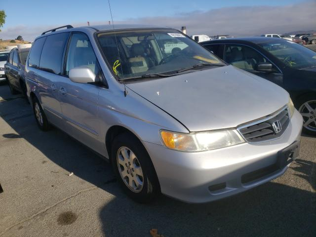 Salvage cars for sale at Martinez, CA auction: 2003 Honda Odyssey EX