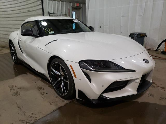 Salvage cars for sale from Copart Central Square, NY: 2021 Toyota Supra Base