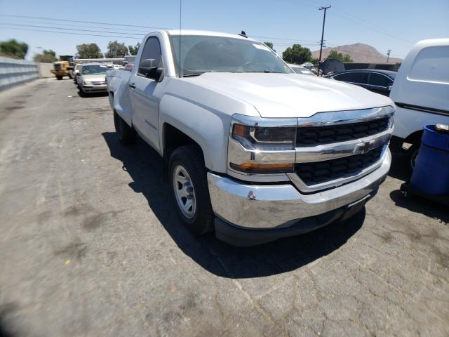 Salvage cars for sale from Copart Colton, CA: 2018 Chevrolet Silverado