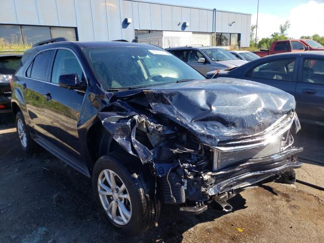 Vehiculos salvage en venta de Copart Woodhaven, MI: 2016 Chevrolet Equinox LT