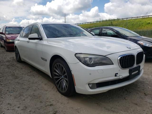 Salvage cars for sale from Copart Northfield, OH: 2009 BMW 750 LI