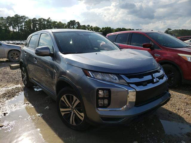 Salvage cars for sale from Copart Houston, TX: 2021 Mitsubishi Outlander