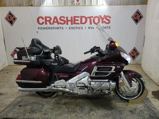 Salvage motorcycles for sale at Columbia, MO auction: 2008 Honda GL1800
