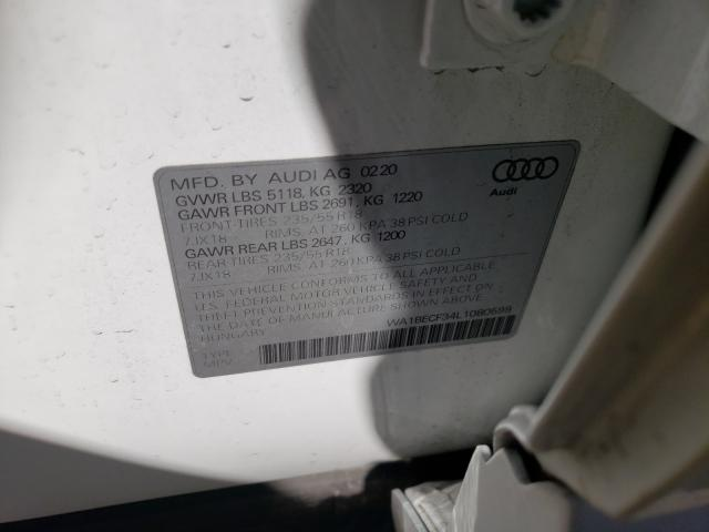 2020 AUDI Q3 PREMIUM WA1BECF34L1080599