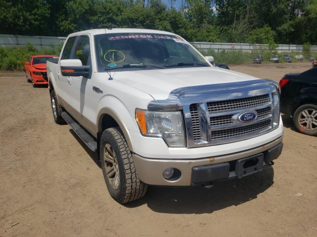 Salvage cars for sale from Copart Davison, MI: 2010 Ford F150 Super