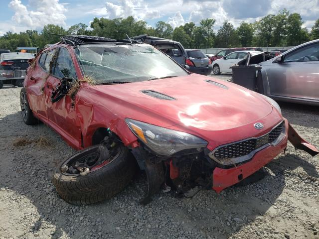 Vehiculos salvage en venta de Copart Spartanburg, SC: 2018 KIA Stinger GT