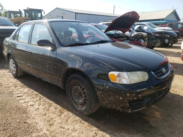 Salvage cars for sale from Copart Pekin, IL: 2001 Toyota Corolla CE