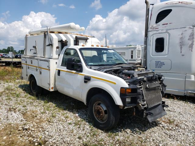 Salvage cars for sale from Copart Cicero, IN: 2008 Ford F350 Super