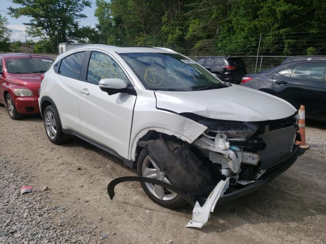 Salvage cars for sale from Copart Northfield, OH: 2019 Honda HR-V EX