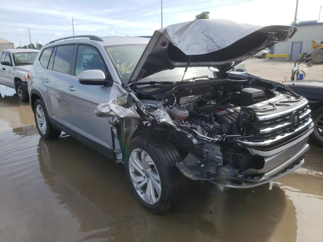 Salvage cars for sale from Copart Riverview, FL: 2021 Volkswagen Atlas SE