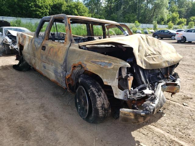 Salvage cars for sale from Copart Davison, MI: 2000 Chevrolet Silverado