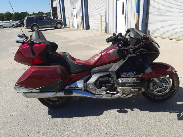 Salvage motorcycles for sale at Conway, AR auction: 2018 Honda GL1800 D