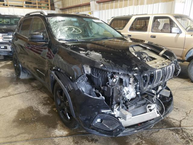 Salvage cars for sale from Copart Anchorage, AK: 2019 Jeep Cherokee L