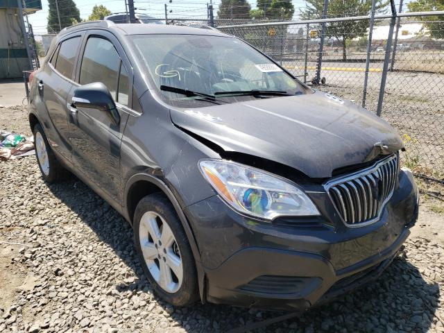 Salvage cars for sale from Copart Eugene, OR: 2016 Buick Encore