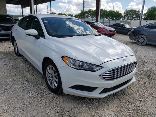 Vehiculos salvage en venta de Copart Homestead, FL: 2017 Ford Fusion S