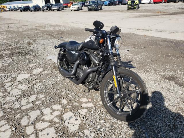 Salvage cars for sale from Copart West Mifflin, PA: 2016 Harley-Davidson XL883 Iron