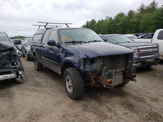 Salvage cars for sale from Copart Lyman, ME: 2003 Ford F150
