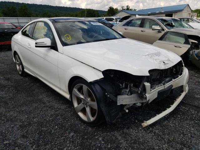 Salvage cars for sale from Copart Grantville, PA: 2014 Mercedes-Benz C 350 4matic