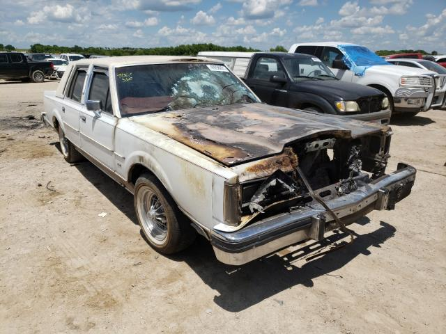 Lincoln Town Car salvage cars for sale: 1984 Lincoln Town Car