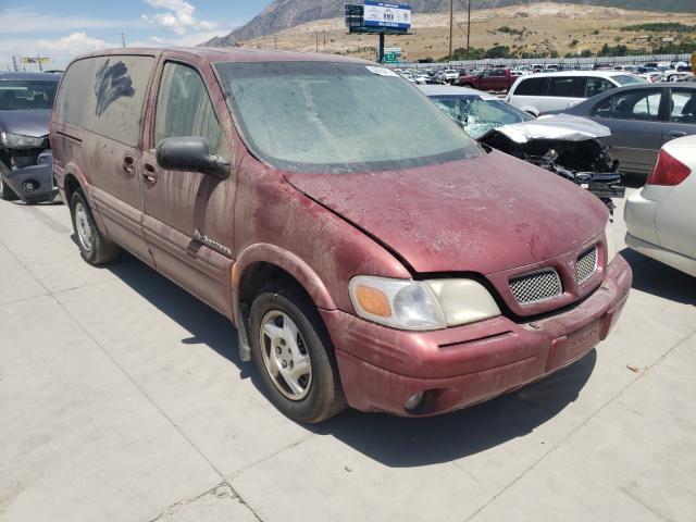 Pontiac salvage cars for sale: 2000 Pontiac Montana