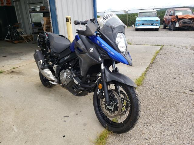 Salvage cars for sale from Copart Chatham, VA: 2020 Suzuki DL650 A