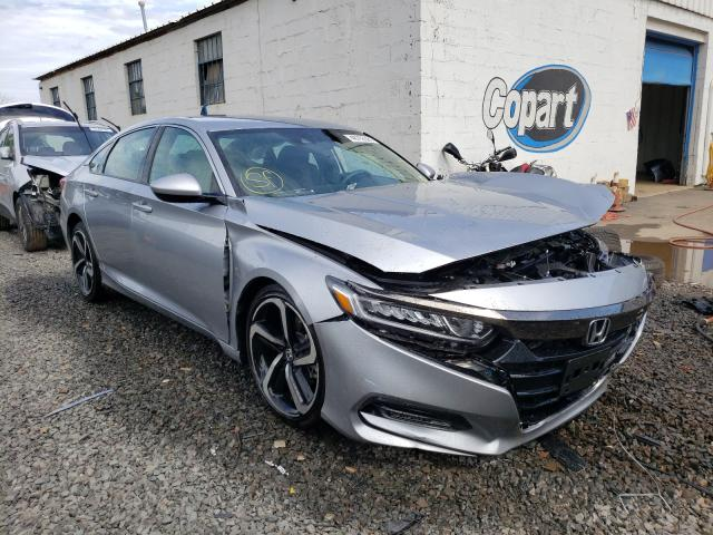 Salvage cars for sale from Copart Hillsborough, NJ: 2020 Honda Accord Sport