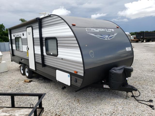 Salvage cars for sale from Copart Apopka, FL: 2019 Salem Travel Trailer