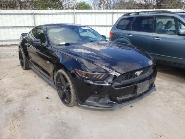 Salvage cars for sale from Copart Corpus Christi, TX: 2015 Ford Mustang GT