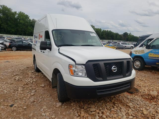 Salvage trucks for sale at China Grove, NC auction: 2018 Nissan NV 2500 S