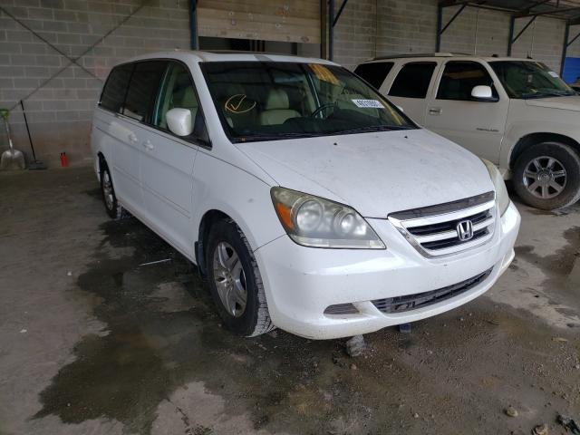 Salvage cars for sale from Copart Cartersville, GA: 2007 Honda Odyssey EX