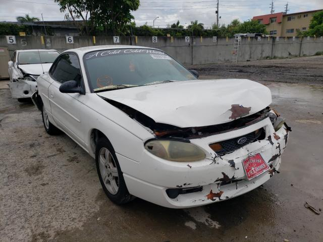 Salvage 2003 FORD ESCORT - Small image. Lot 49091541