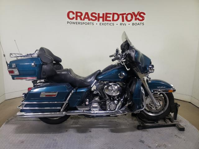 Salvage cars for sale from Copart Dallas, TX: 2004 Harley-Davidson Flhtcui