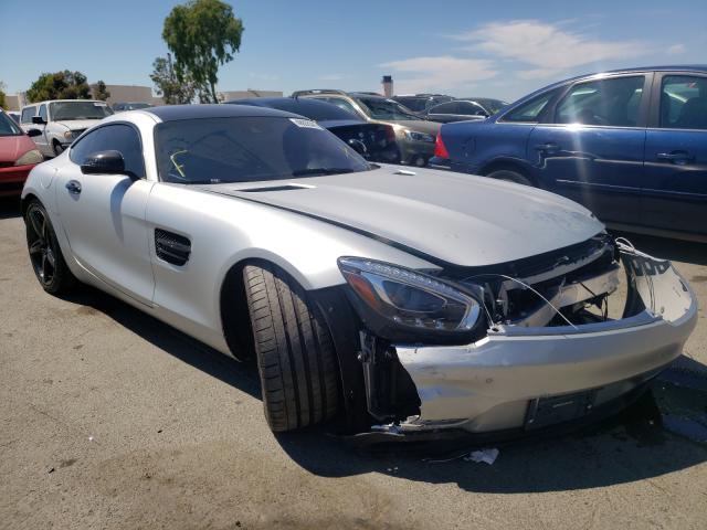 Vehiculos salvage en venta de Copart Martinez, CA: 2016 Mercedes-Benz AMG GT S