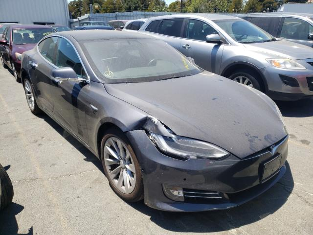 Salvage cars for sale from Copart Vallejo, CA: 2018 Tesla Model S