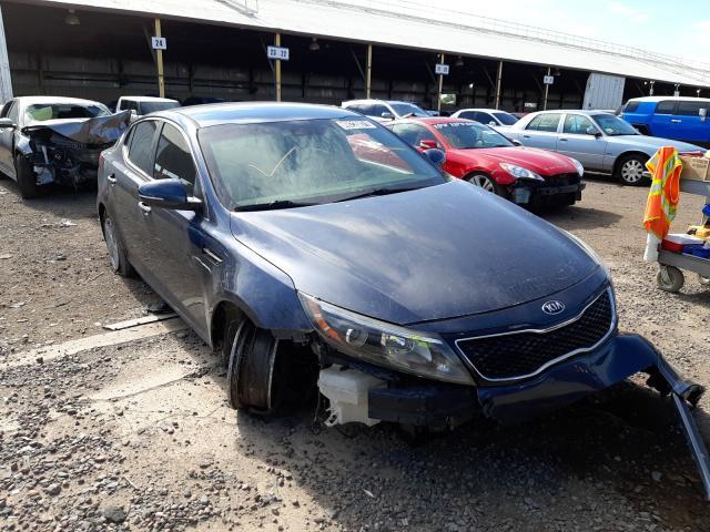 Salvage cars for sale from Copart Phoenix, AZ: 2015 KIA Optima LX